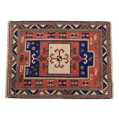 Caucasian Hand Woven Wool Prayer Rug