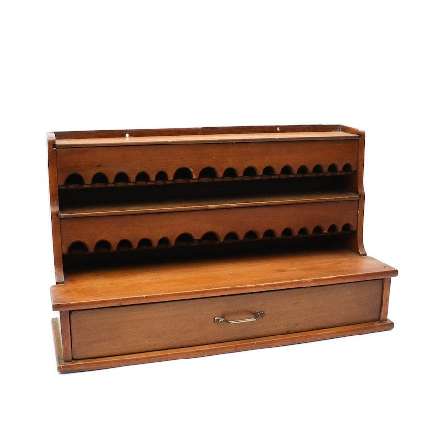 Antique Thread and Bobbin Cabinet ... - Antique Thread And Bobbin Cabinet : EBTH