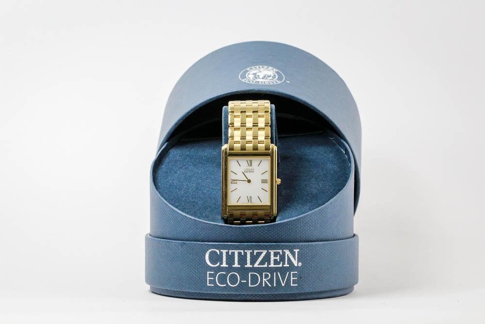 Citizen Eco-Drive Stiletto Men's Wristwatch