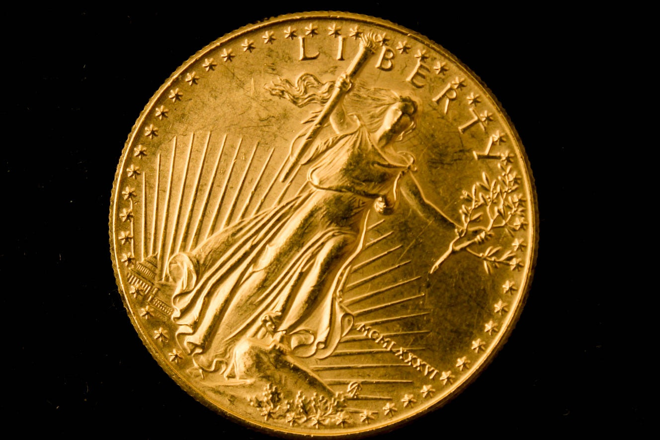 1986 One Ounce Fine Gold 50 American Eagle Gold Bullion