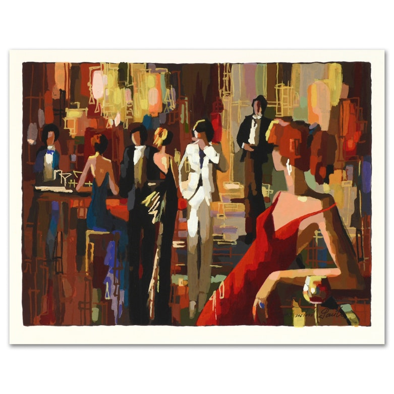 """Nelly Panto """"Spotlights"""" Signed Limited Edition Serigraph"""