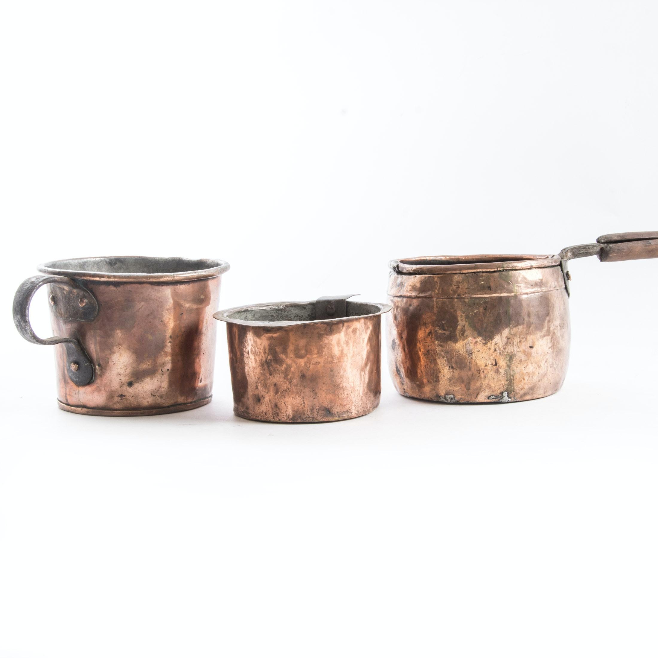 Three Copper Pots