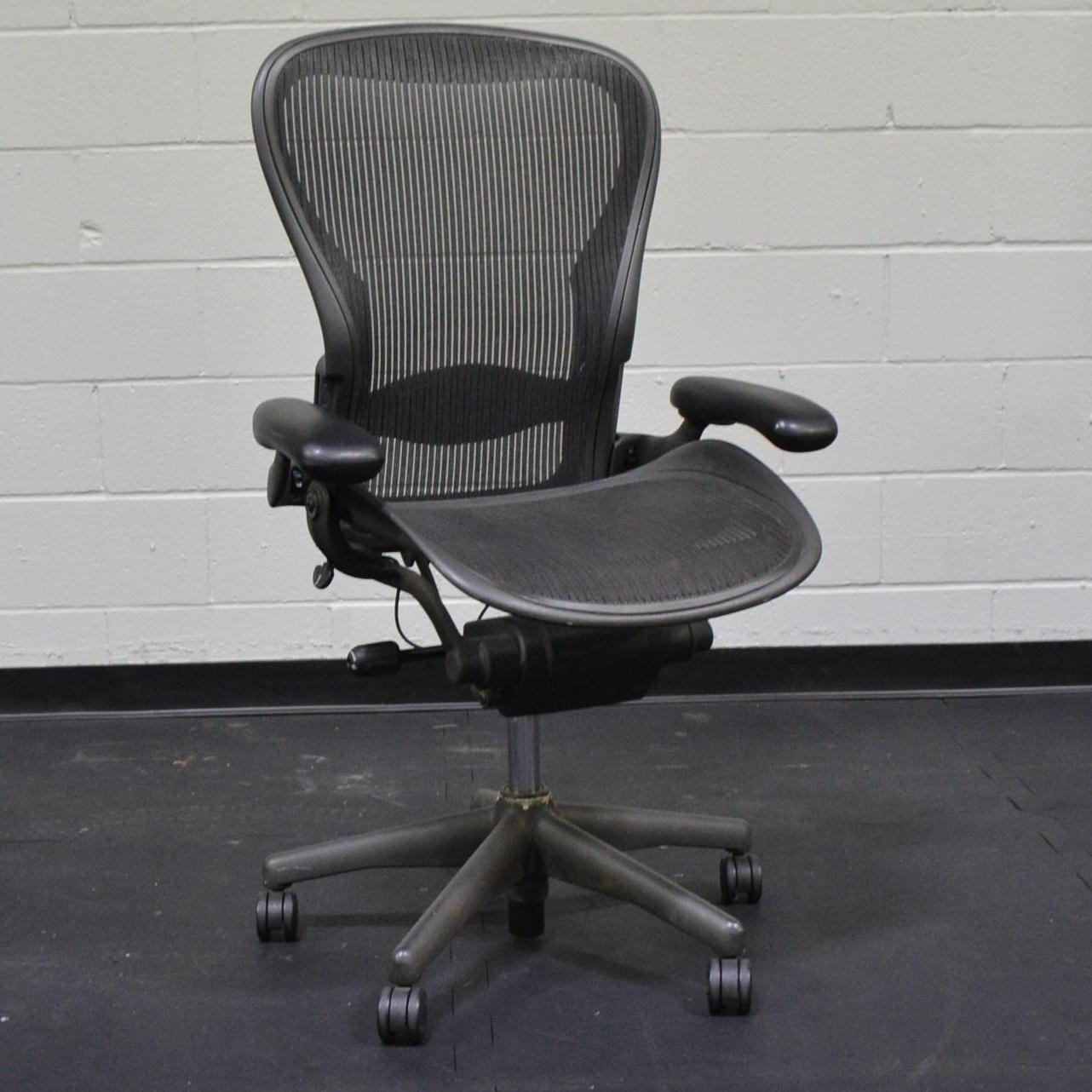 Herman Miller Aeron Rolling fice Chair EBTH