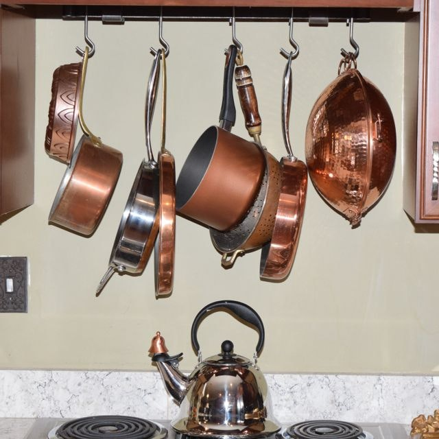 Copper Plate and Aluminum Cookware