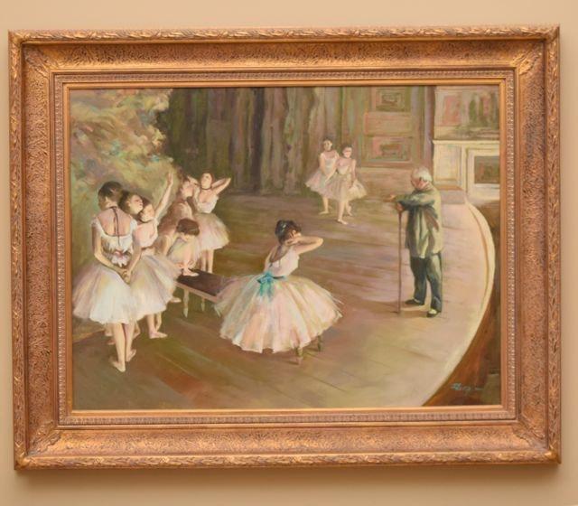 Original Oil on Canvas by Dutch Artist Tim Benjamin