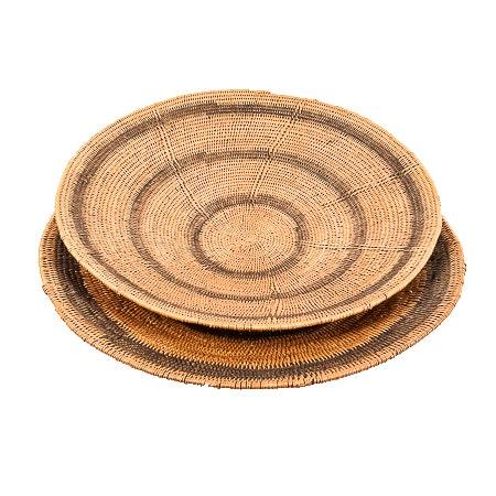 Flat Bowl Baskets