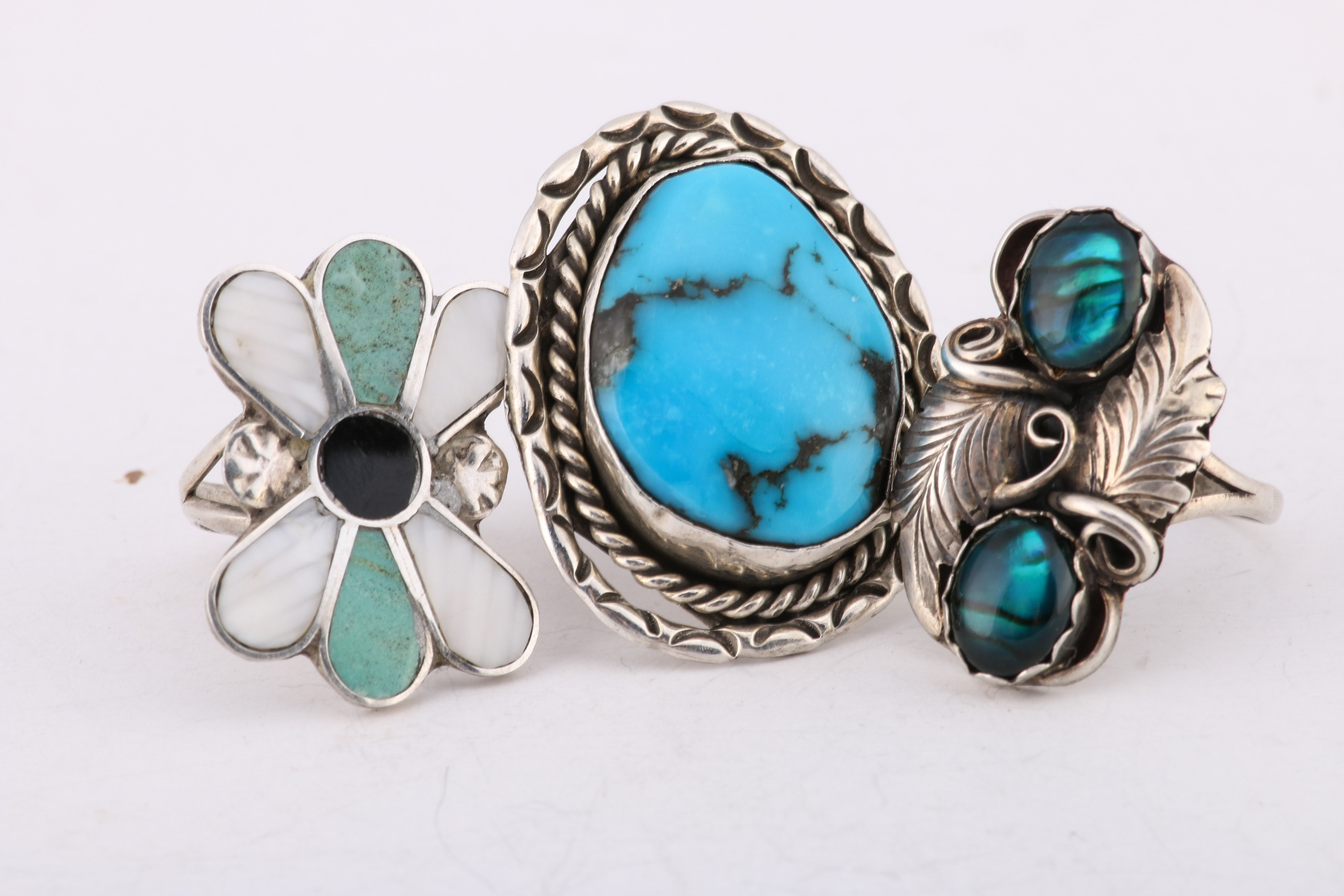 Grouping of Southwestern Style Rings