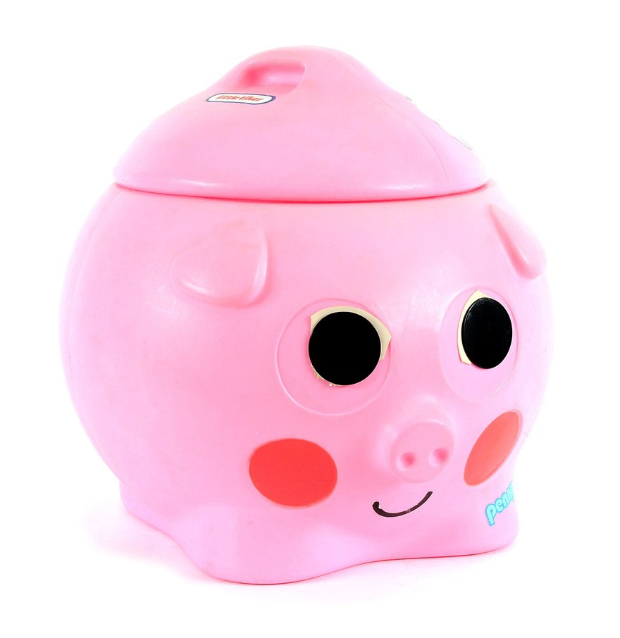Little Tikes Penny the Pig Toy Box  EBTH