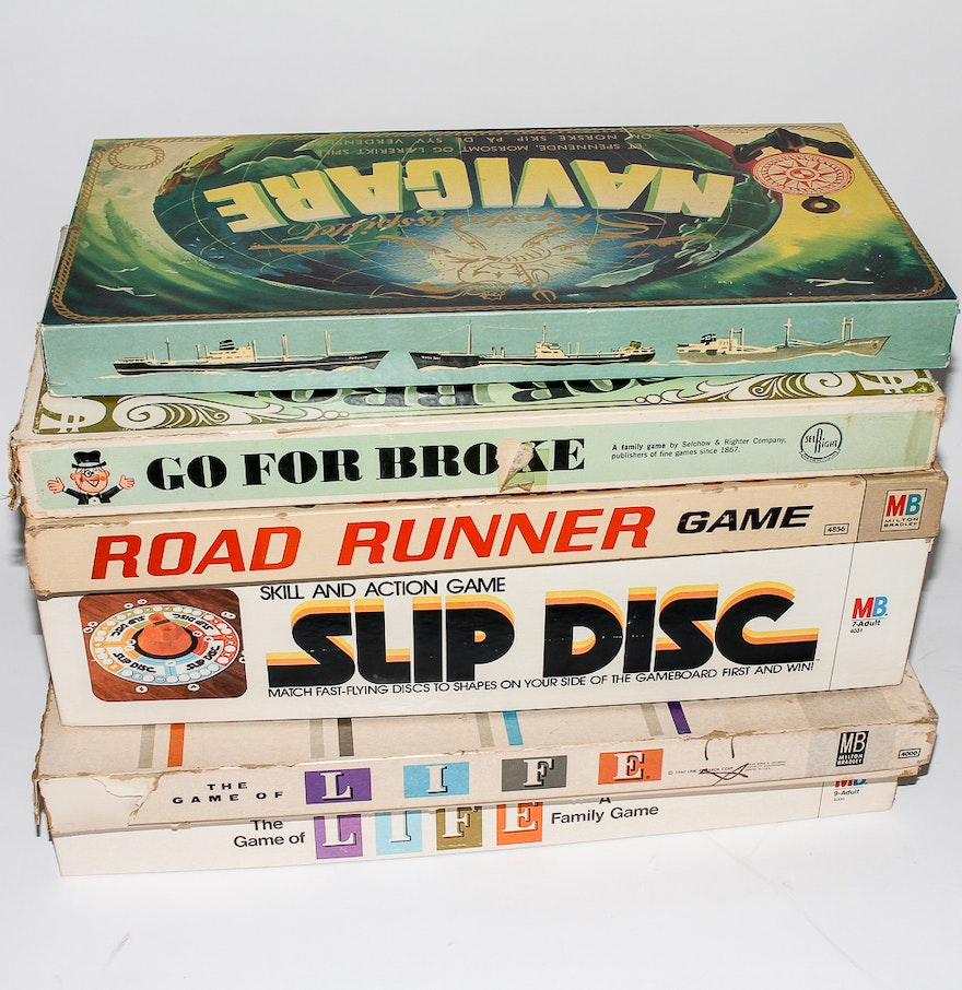5 Vintage 1960s Board Games from Spain by VintageMemoryChest  1960 Board Games List