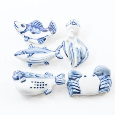 Porcelain Chopstick Rests