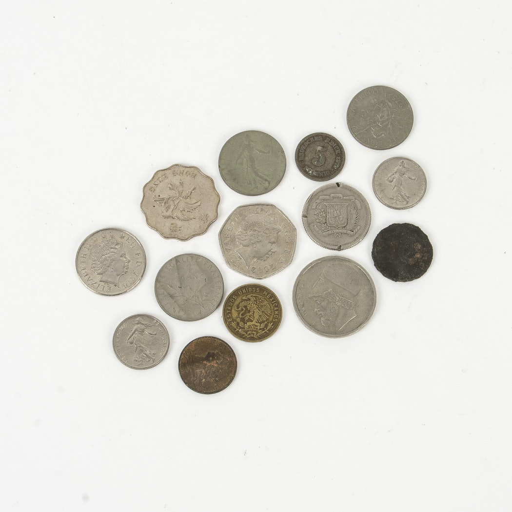 Assortment of Foreign Coins