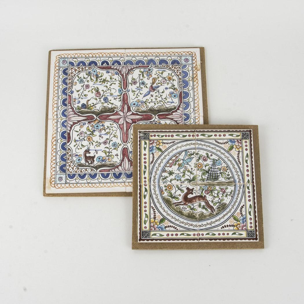 Portuguese Ceramic Tile Artwork