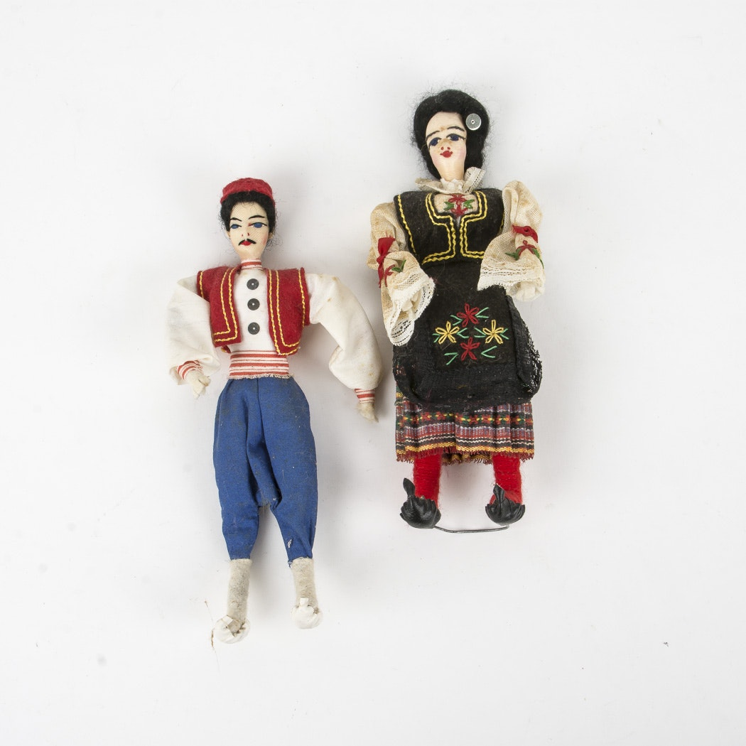 Cloth Folk Dolls