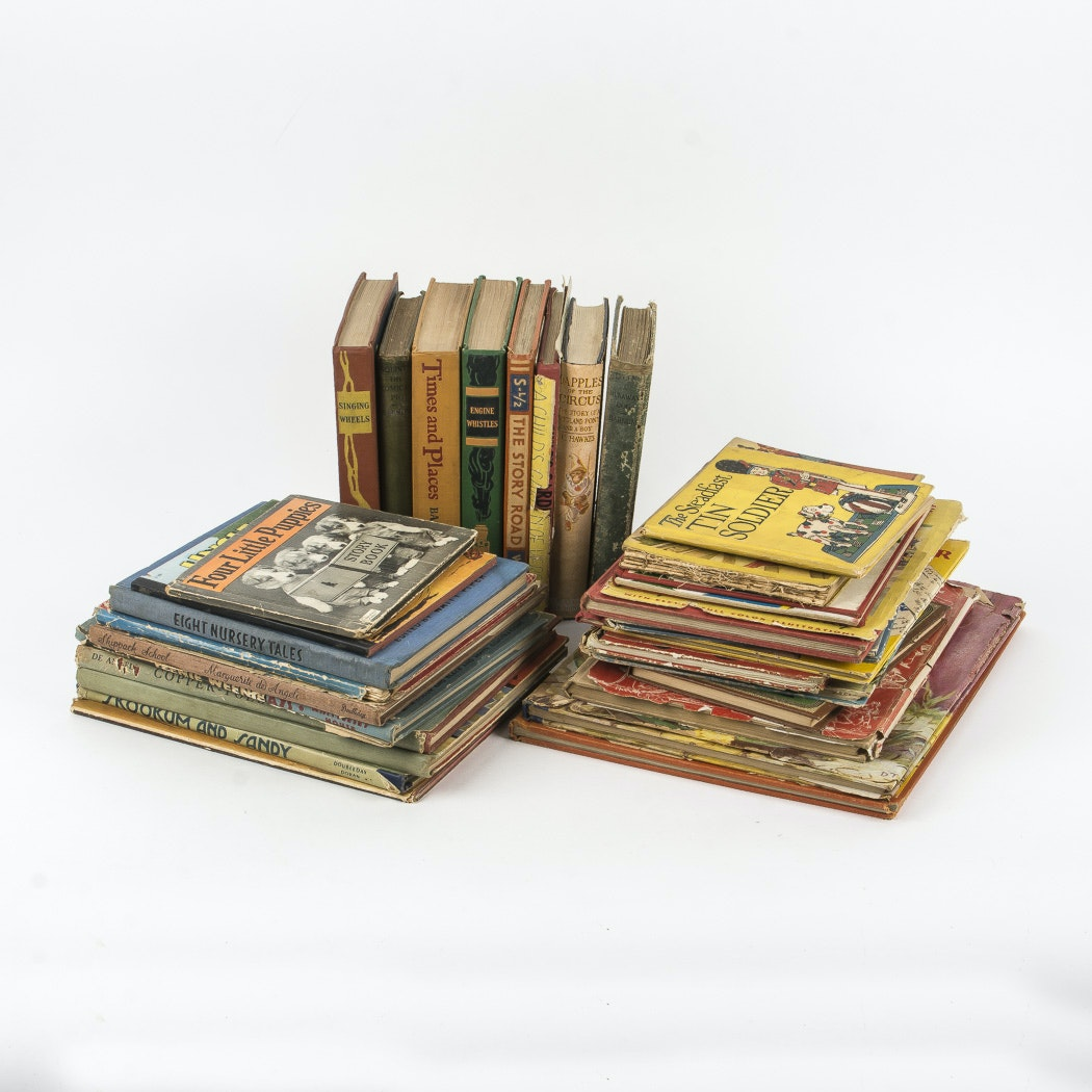 Collection of Vintage Children's Books