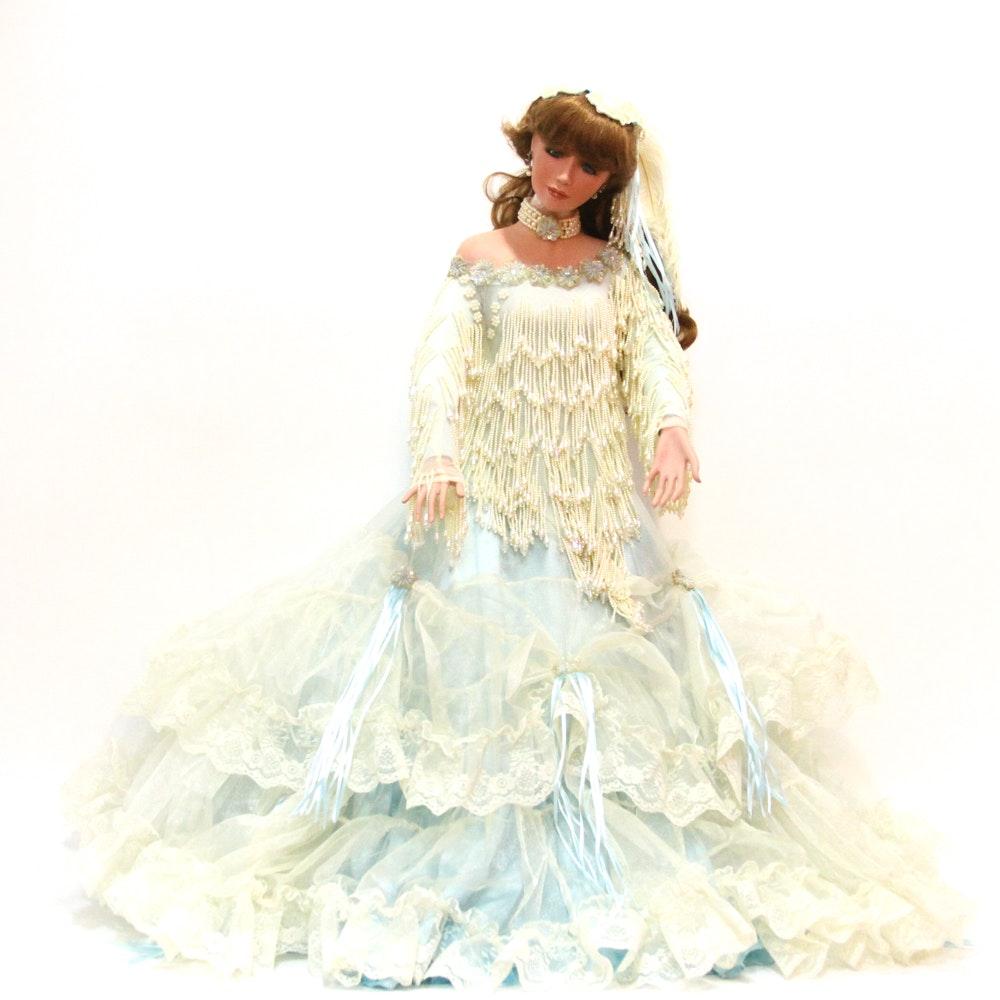"33"" Rustie Porcelain Doll"