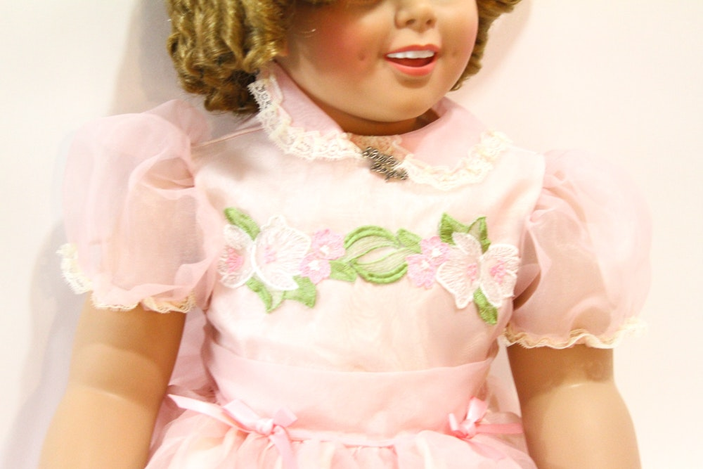 Lovee Doll Amp Toy Co : Danbury mint vinyl shirley temple doll ebth