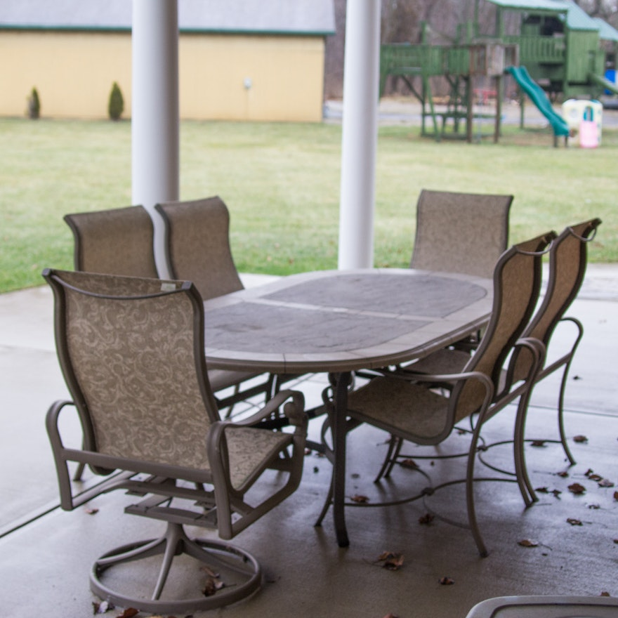 Tropitone Patio Furniture Set Ebth