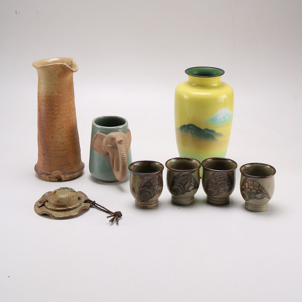Collection of East and Southeast Asian Pottery