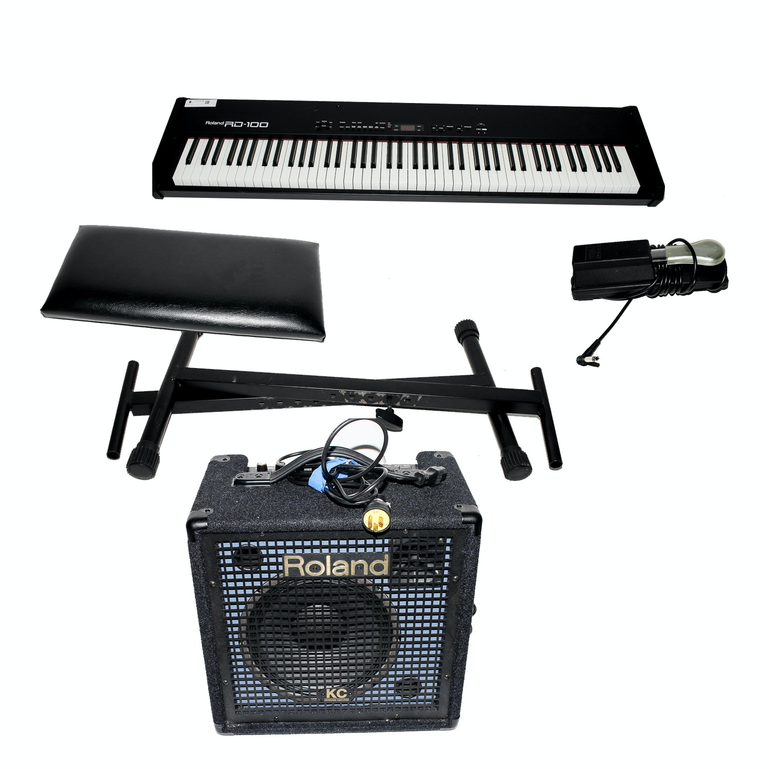 Roland RD-100 Electric Piano with Amplifier, Stand and Stool