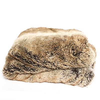 Arhaus Faux Fur Blanket