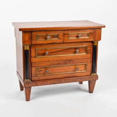 Antique Continental Empire Salesman Sample Chest. Furniture Auctions Online   Antique Furniture Auctions in Home