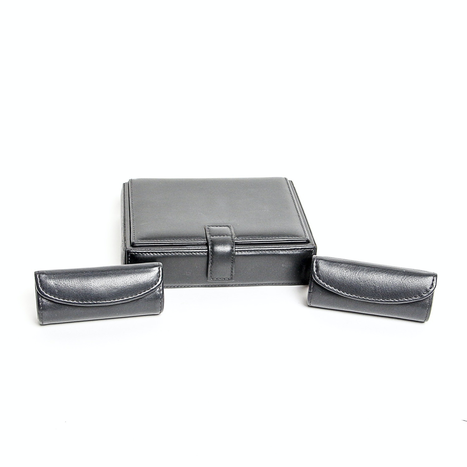 Coach Jewelry Box and Two Lipstick Cases