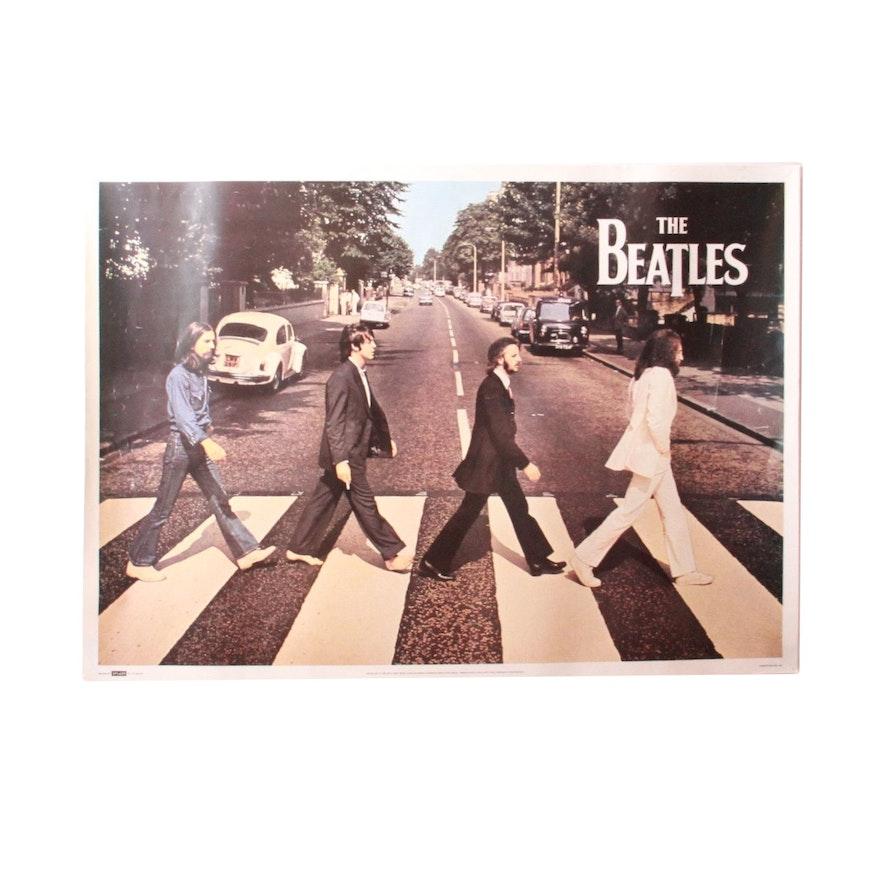 Vintage Original 1969 Abbey Road Beatles Poster