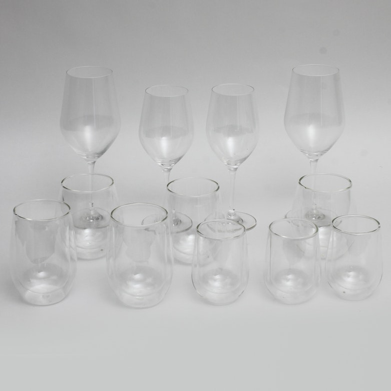 Collection of tervis double wall tumblers ebth - Insulated stemless wine glasses ...