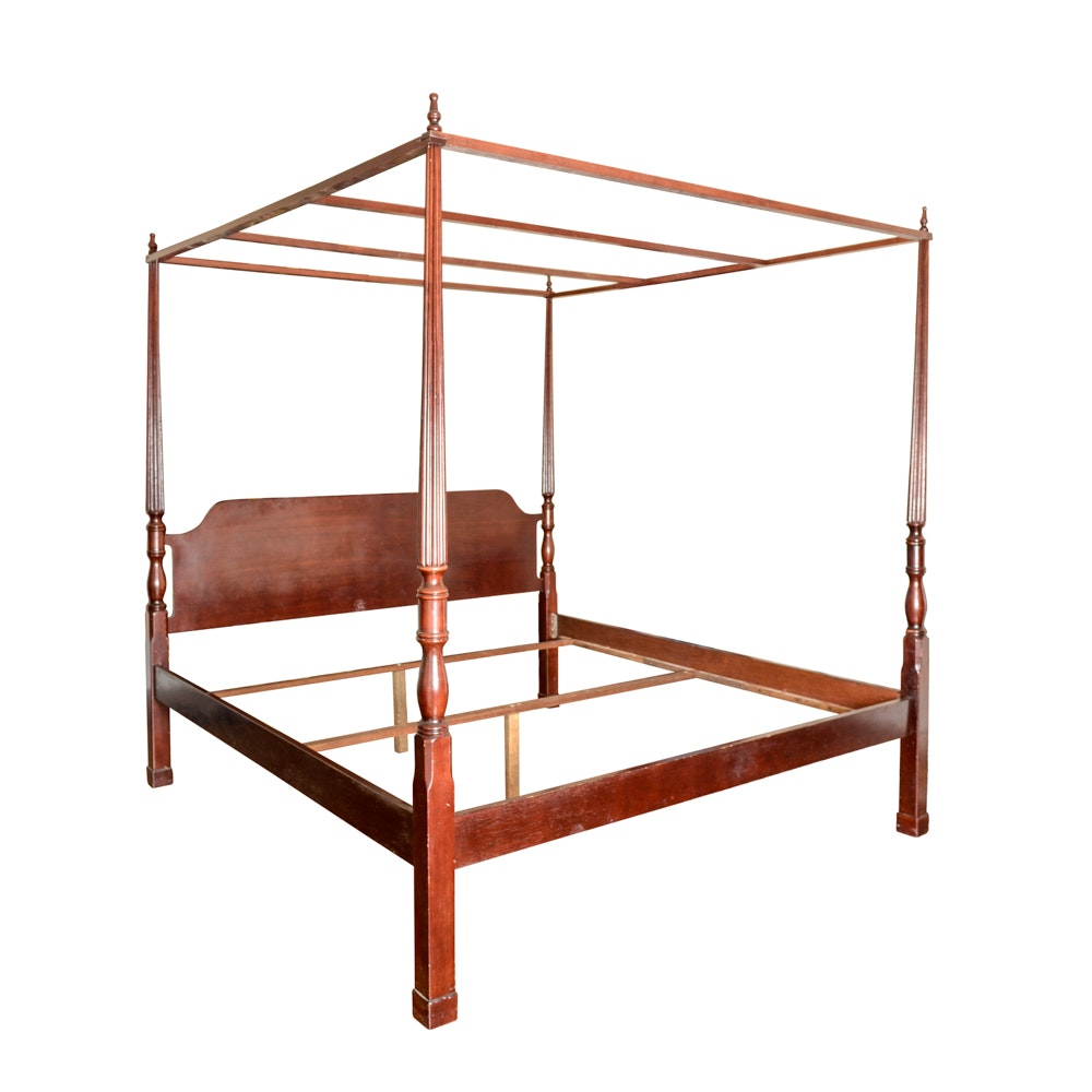 Bombay Company King Size Four Poster Bed Ebth