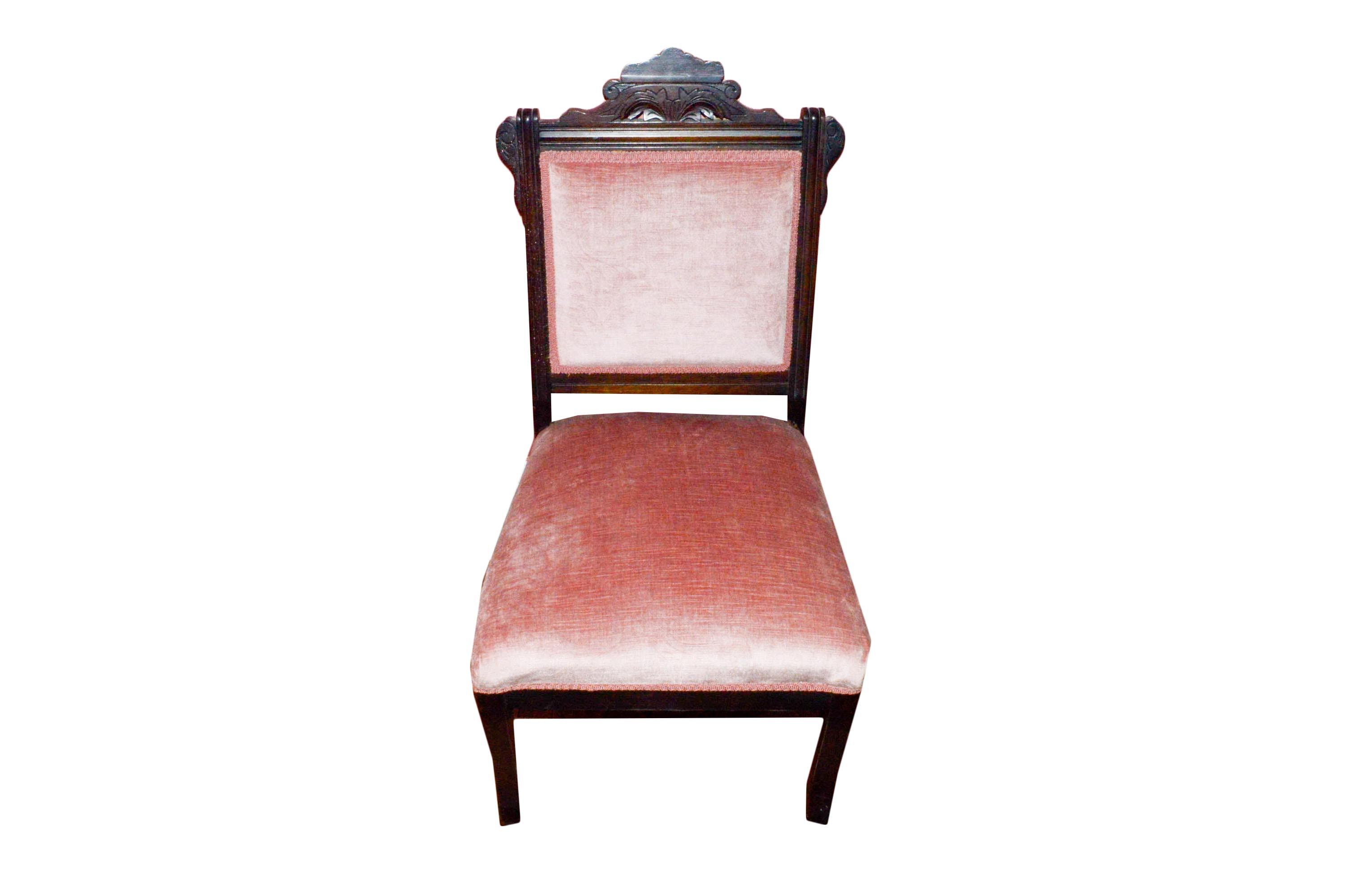 Reproduction Victorian Parlor Chair EBTH