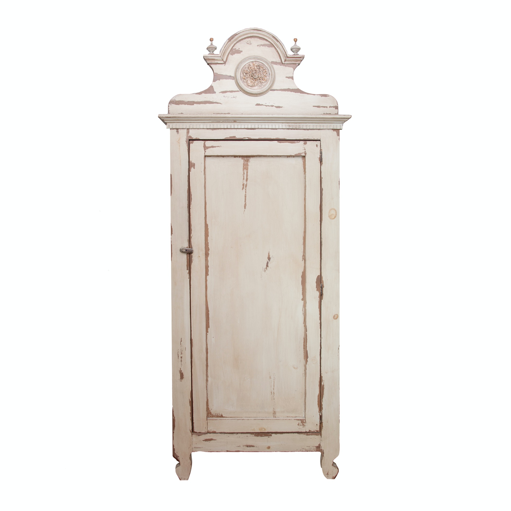 Contemporary Provencal Inspired Wooden Armoire