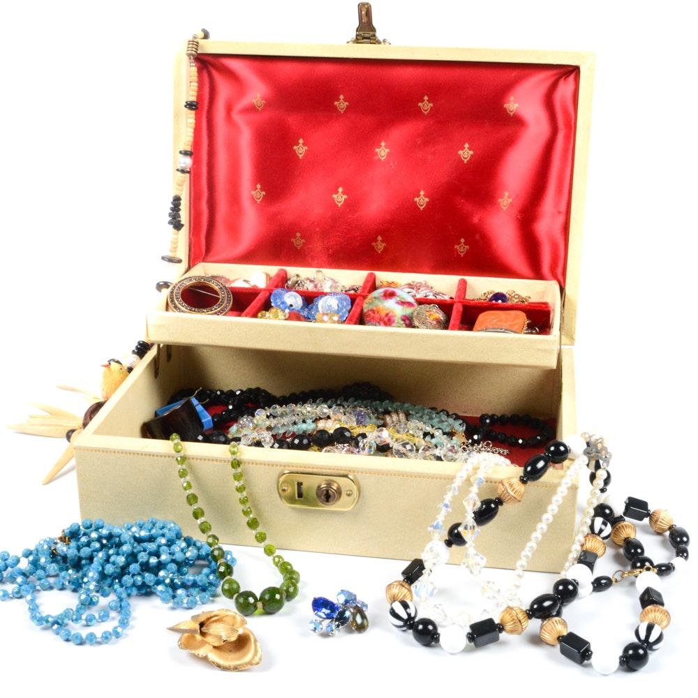 Vintage Bond Street Jewelry Box