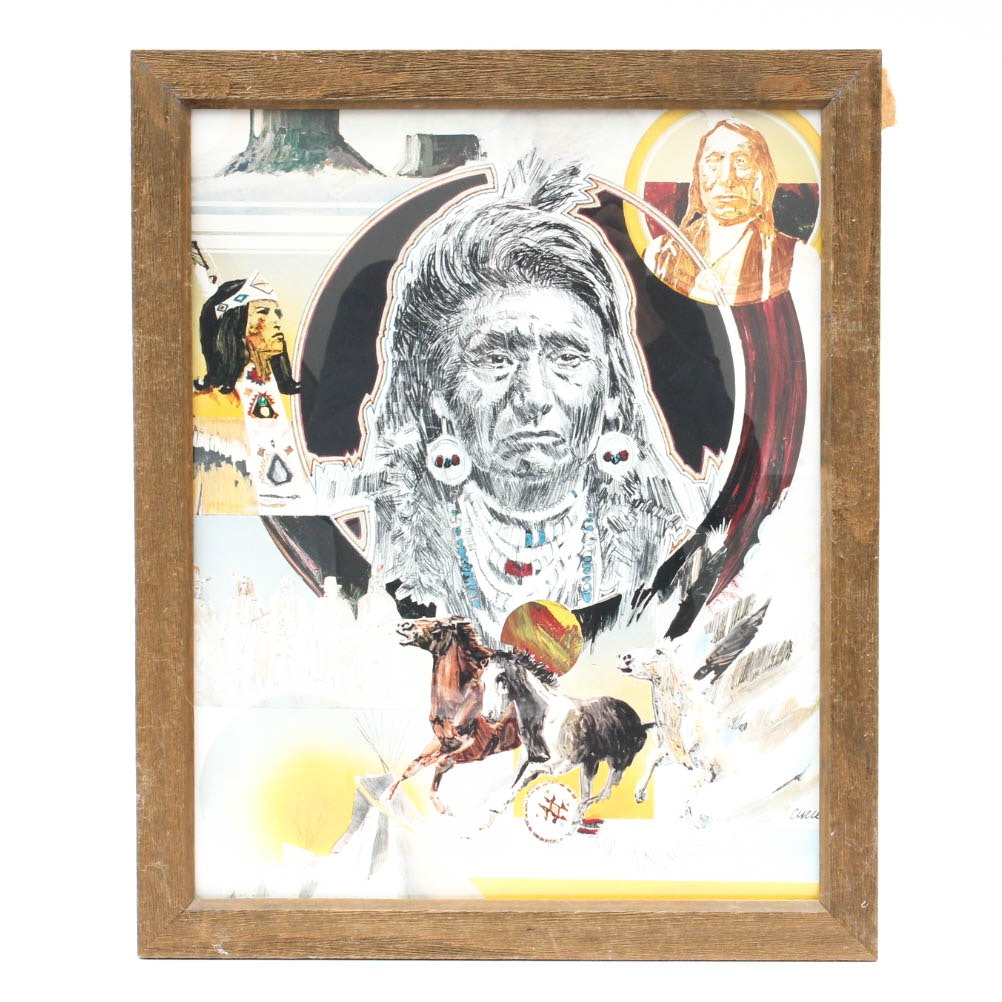 Native American Decor Set