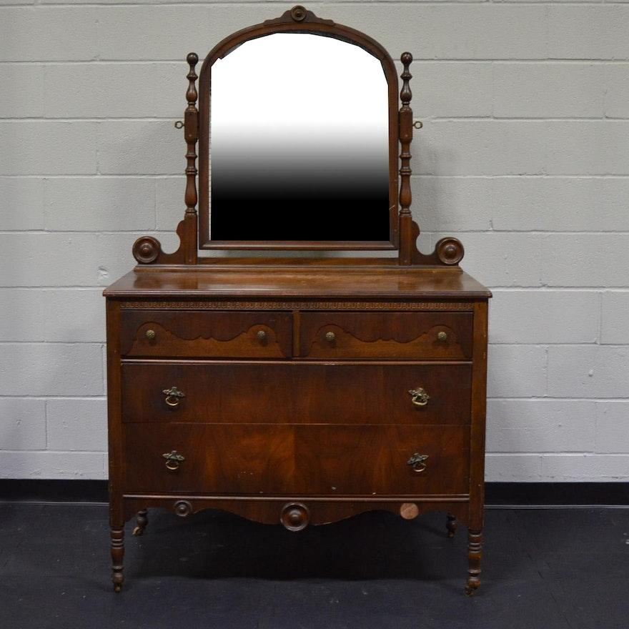 Northern Furniture Company Walnut Dresser