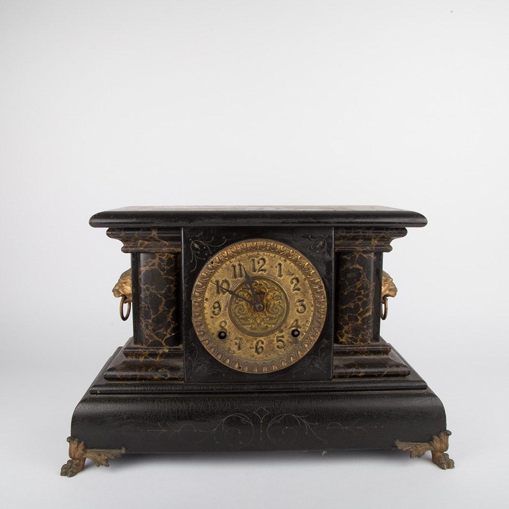 Ingraham Vintage Mantle Clock