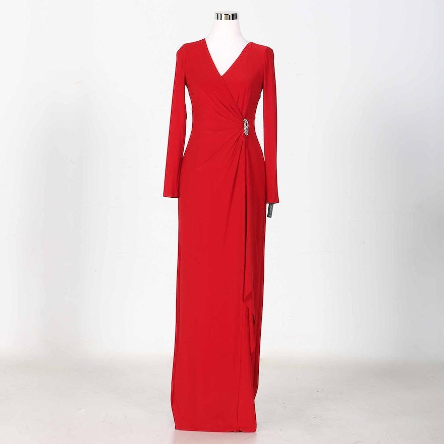 Ralph Lauren Women\'s Red Evening Dress : EBTH