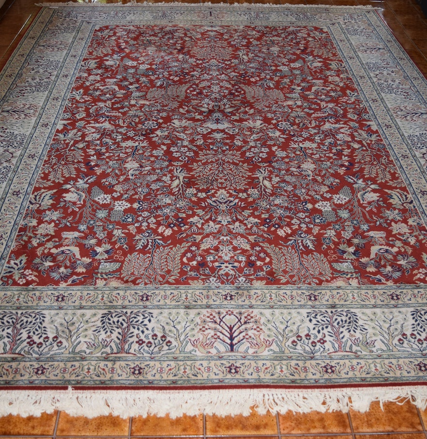 Rug Gallery Belgian All Wool Area Rug Ebth