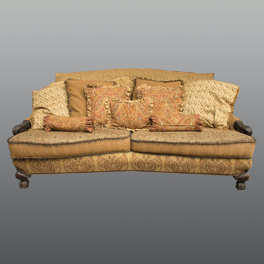 Bohemian Style Sofa By Carol Hicks Bolton And Ej Victor