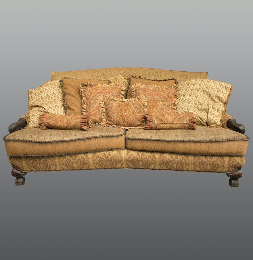 Bohemian Style Sofa By Carol Hicks Bolton And Ej Victor Ebth