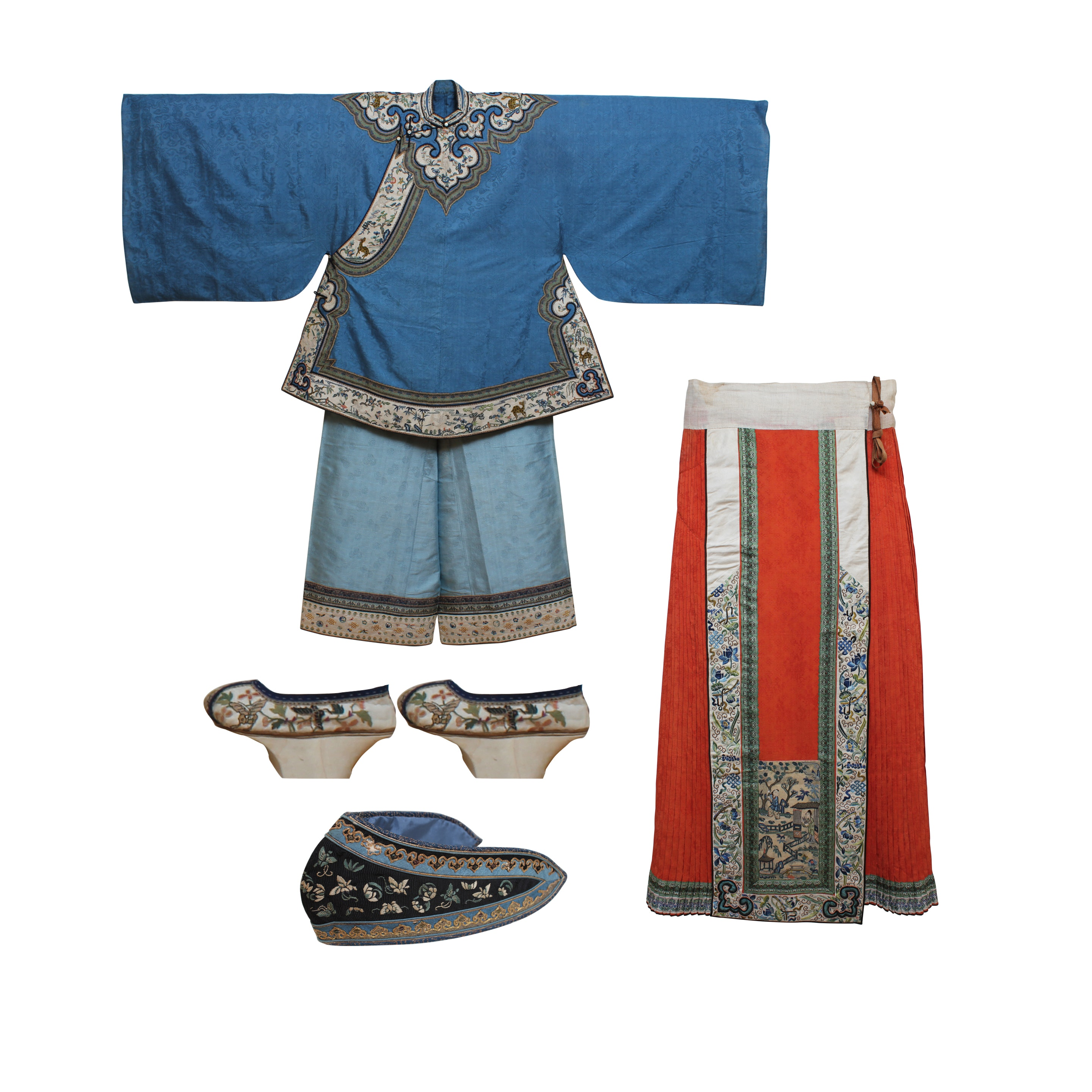 Antique Imperial Chinese Robes with Letter of Provenance