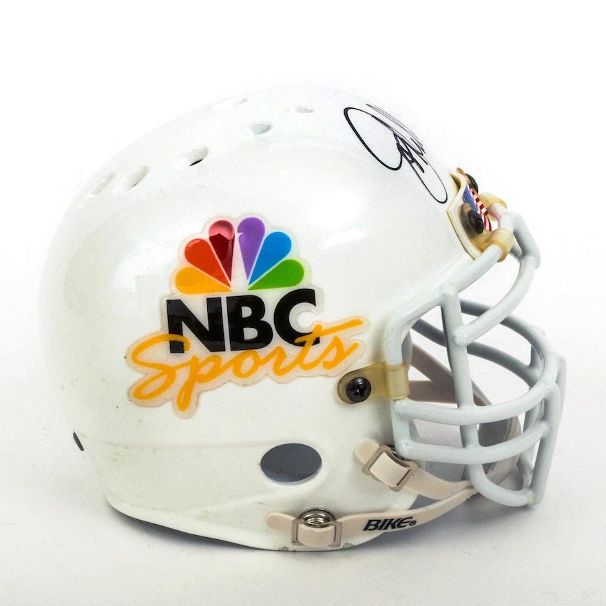 d008d30e9 John Elway Arena Football Autographed Mini Helmet   EBTH