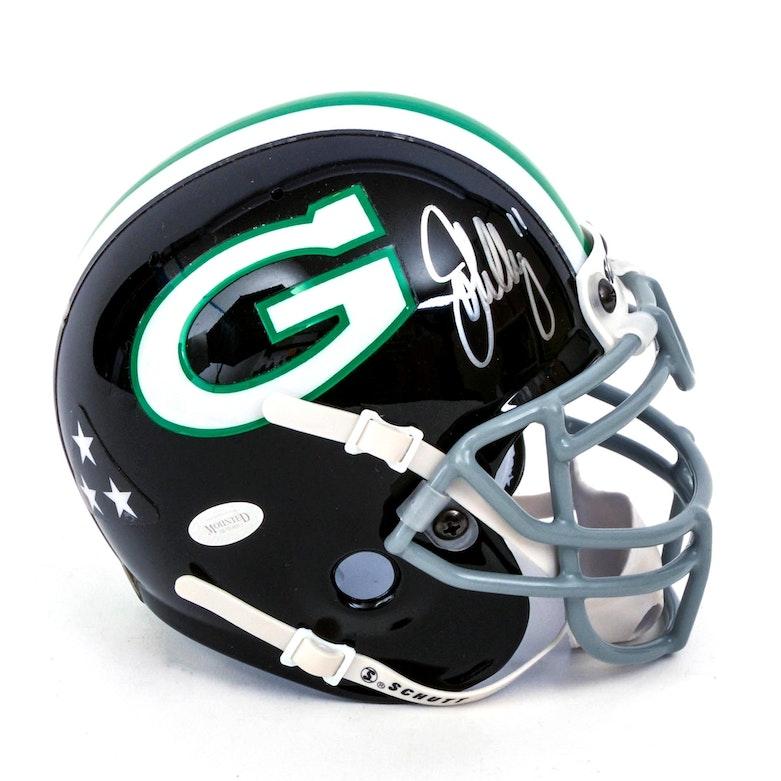 ad89570bd John Elway Granada Hills High School Autographed Mini Helmet   EBTH