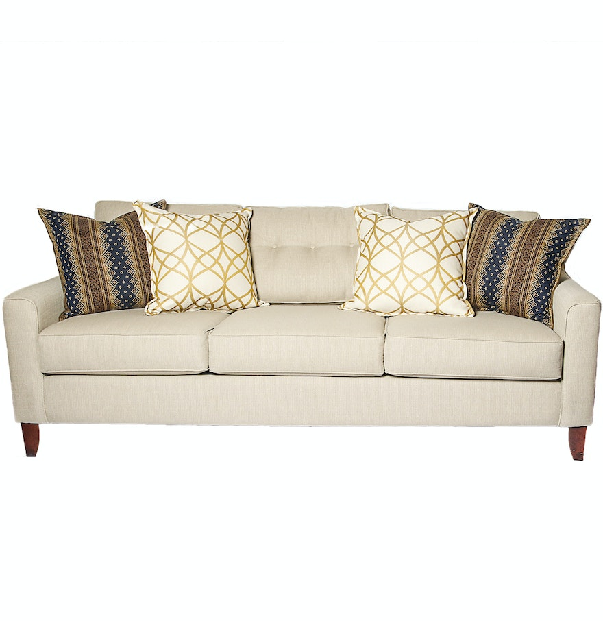 Full Size Upholstered Sofa Ebth