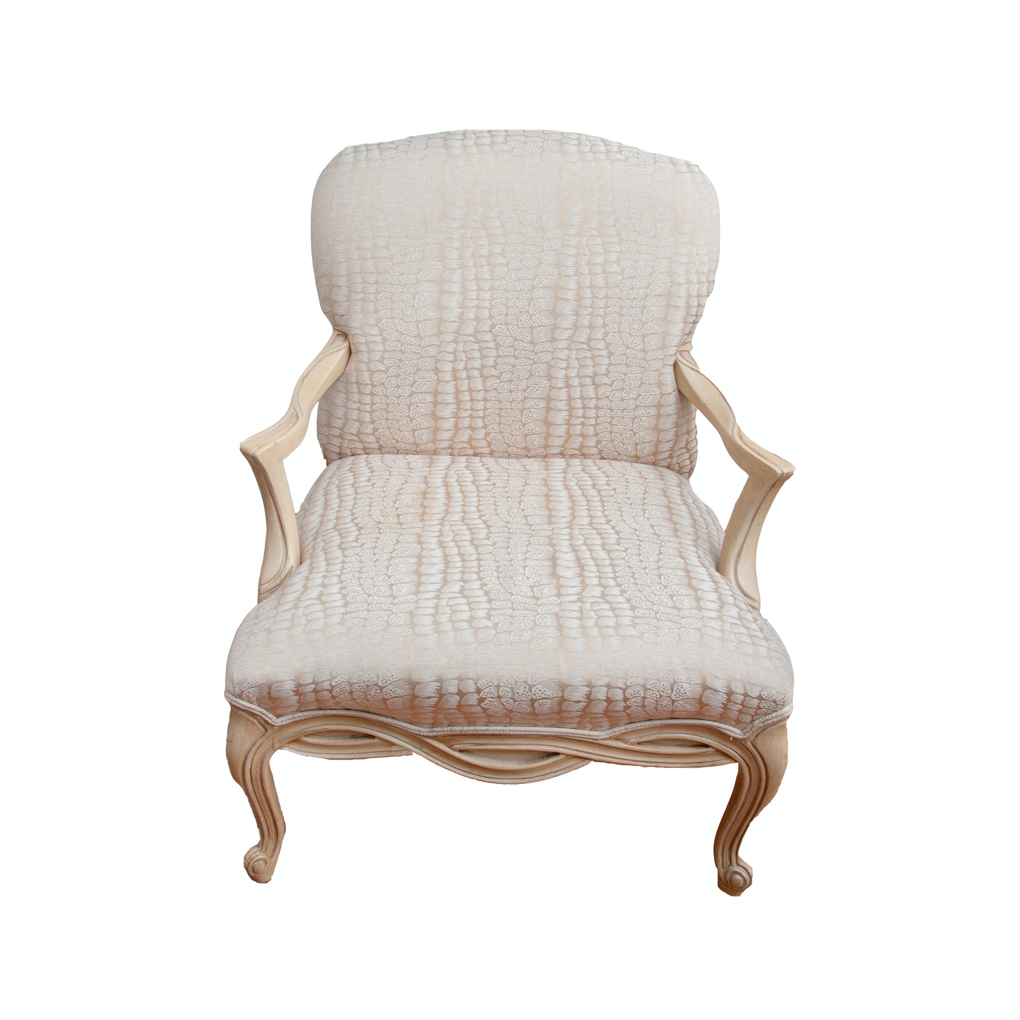 Contemporary Louis XV Style Chair