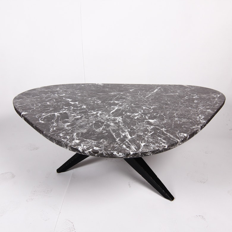 Mid Century Marble Top Table