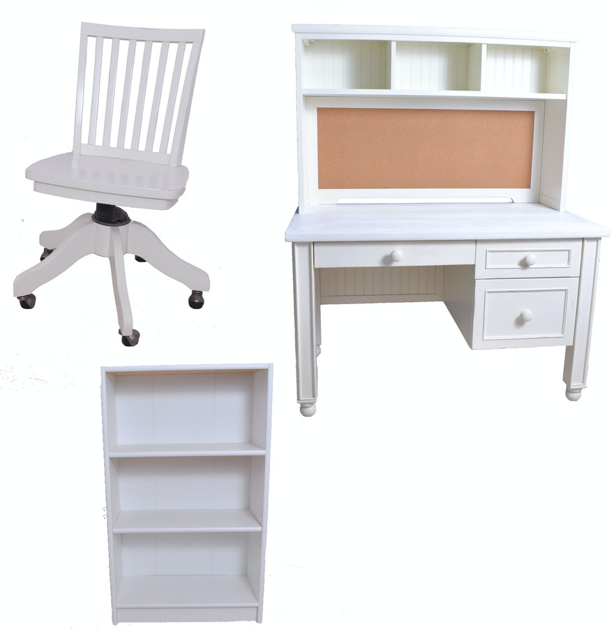 Magnificent Pottery Barn Kids Desk With Chair And Bookshelf Inzonedesignstudio Interior Chair Design Inzonedesignstudiocom