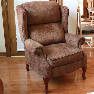 La Z Boy High Leg Recliner Ebth
