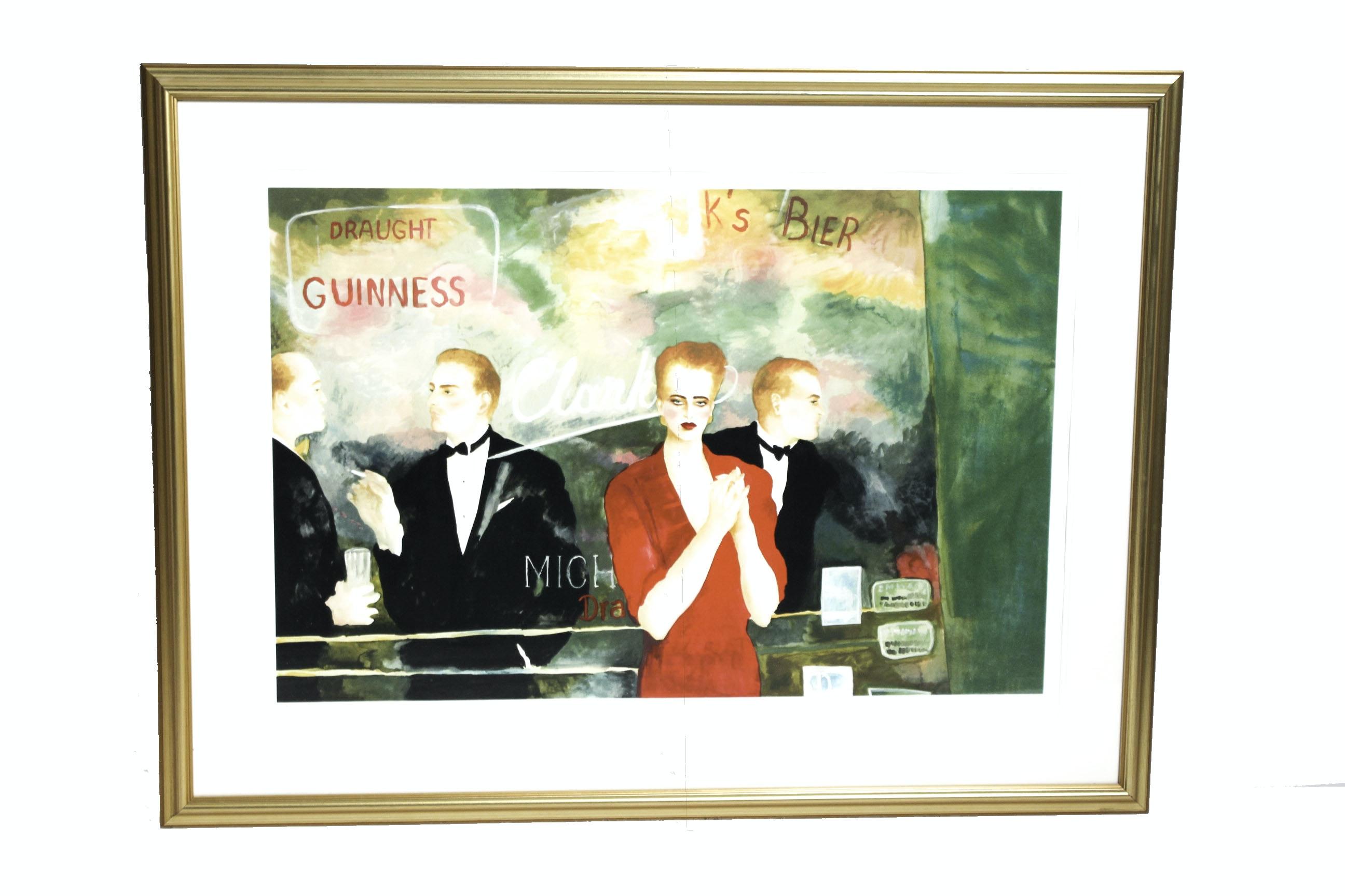 "Joanna Zjawinska Limited Edition Serigraph ""Night Games"""