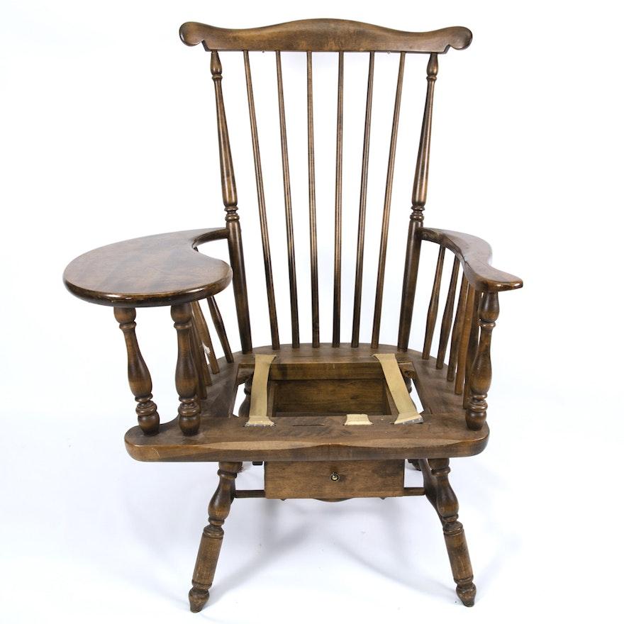 Miraculous Vintage Windsor Comb Back Chair Desk Uwap Interior Chair Design Uwaporg