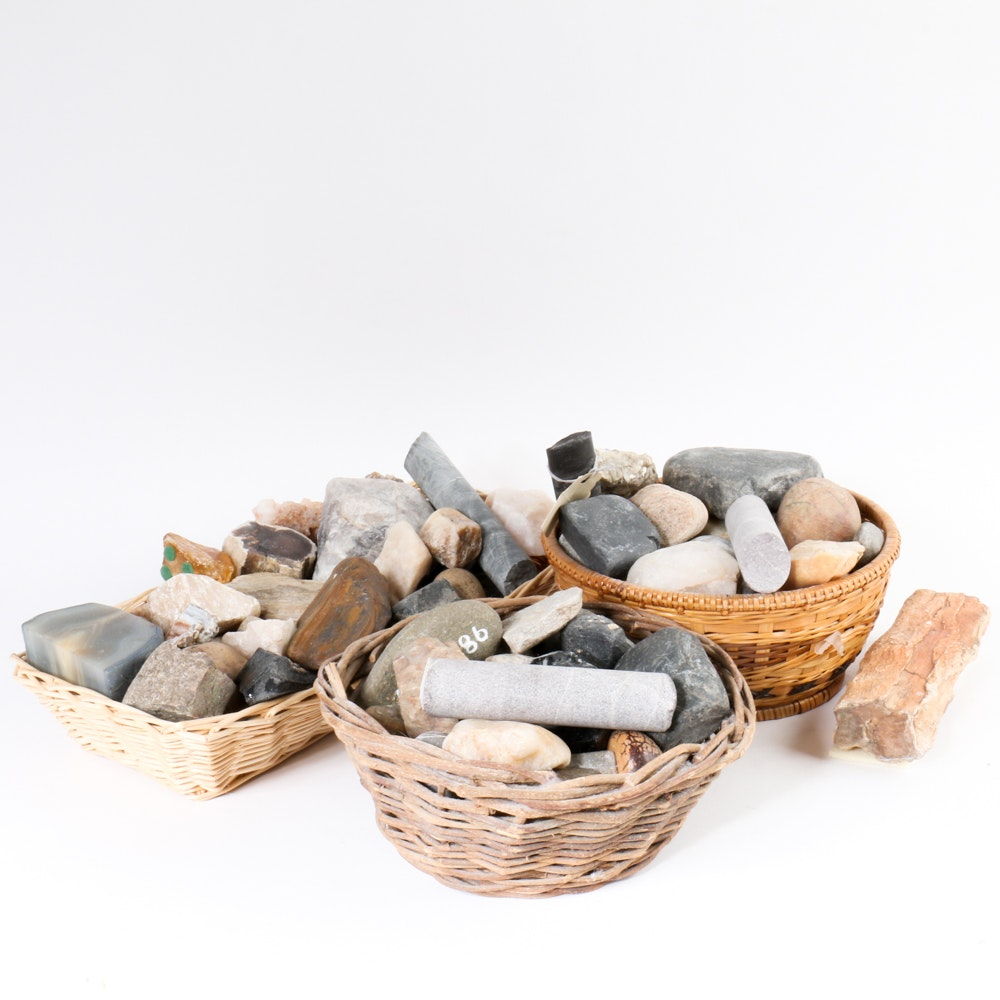 Collection of Rocks and Minerals